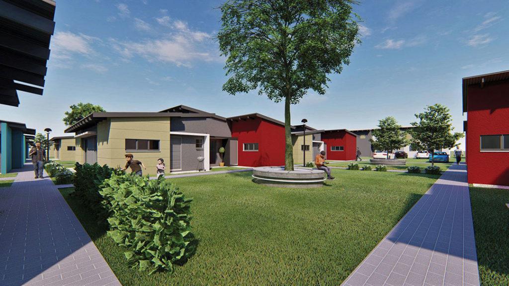 Child friendly neighborhood homes